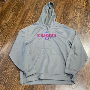 ADIDAS climawarm Kansas University hoodie